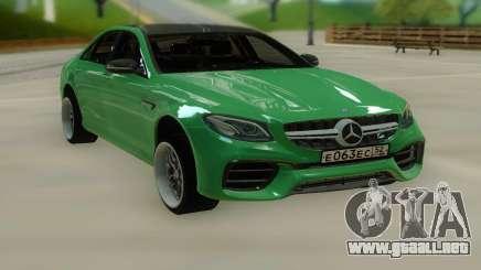 Mercedes-Benz E63 W213 Stock para GTA San Andreas