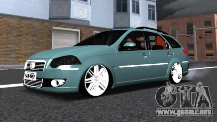 Fiat Palio Weekend para GTA San Andreas