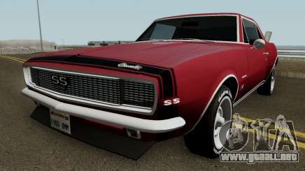 Chevrolet Camaro Z28 Buddy Repperton v1.0 1967 para GTA San Andreas