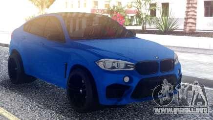 BMW X6M Sport para GTA San Andreas