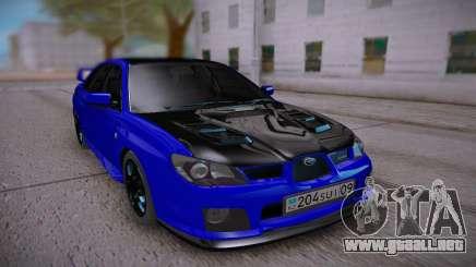 Subaru Impreza WRX STi Sedan para GTA San Andreas