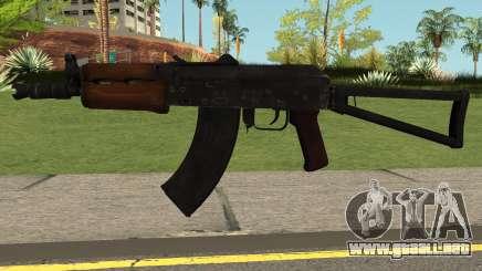 Contagion AK74U para GTA San Andreas