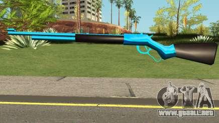 Cuntgun Blue para GTA San Andreas