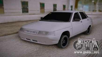 Lada 2110 Rayado para GTA San Andreas
