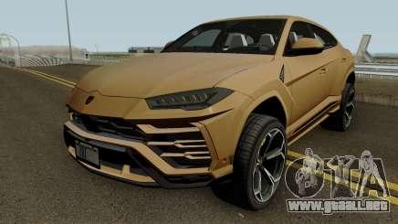Lamborghini Urus 2018 IVF para GTA San Andreas