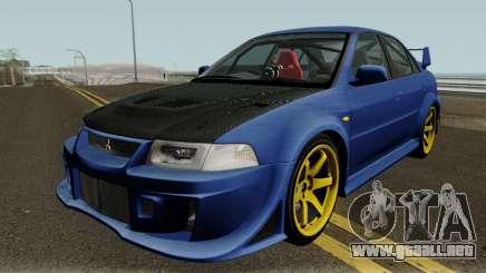 Mitsubishi Evolution VI Edited para GTA San Andreas
