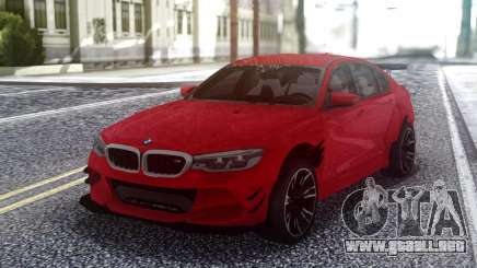 BMW M5 F90 Red Sedan para GTA San Andreas