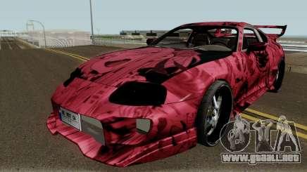 Toyota Supra Ahegao para GTA San Andreas