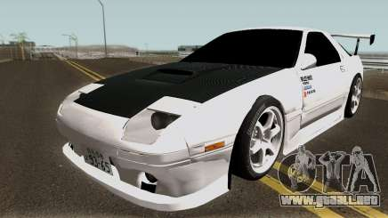 Mazda FC3S Re-Amemiya v1 Edited para GTA San Andreas
