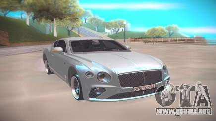 Bentley Continental GT 2018 para GTA San Andreas