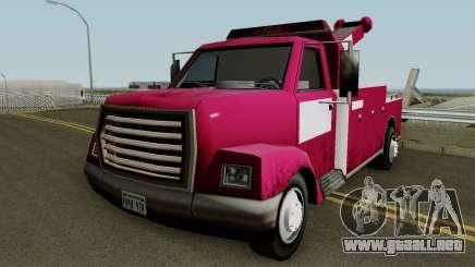 Tow Truck para GTA San Andreas