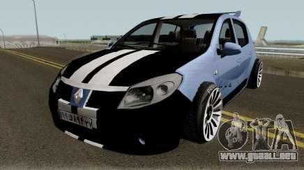 Renault Sandero Sportiran para GTA San Andreas