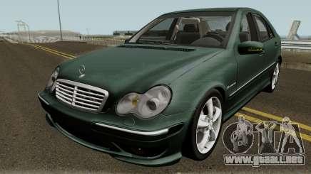 Mercedes-Benz C-Klasse W203 C32 (US-Spec) para GTA San Andreas