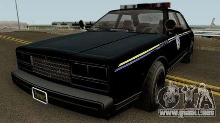 Police Roadcruiser GTA 5 para GTA San Andreas