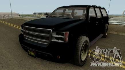 FIB Granger GTA 5 para GTA San Andreas
