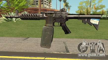 Ares Shrike 5.56 LMG para GTA San Andreas