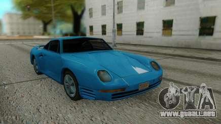 Porshe 959 87 Sastyle para GTA San Andreas