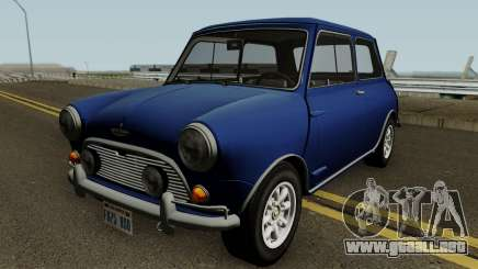 Austin Mini Cooper S Style Mr Bean v1.0 1965 para GTA San Andreas