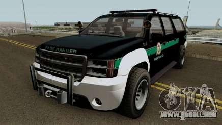 Park Ranger Granger GTA 5 para GTA San Andreas