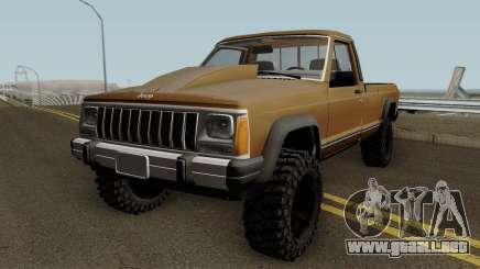 Jeep Comanche HQ para GTA San Andreas