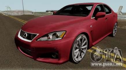 Lexus IS-F 2013 para GTA San Andreas