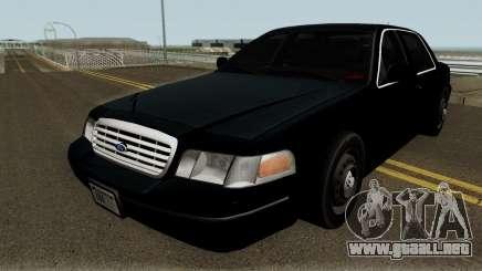 Ford Crown Victoria FBI 2003 para GTA San Andreas