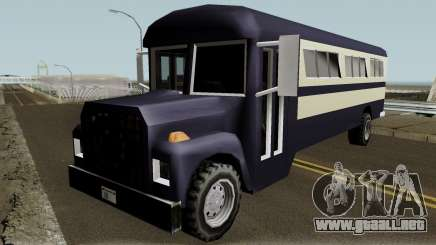 New Bus para GTA San Andreas