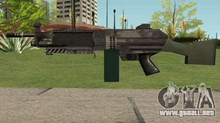 M249 Saw (SA Style) para GTA San Andreas