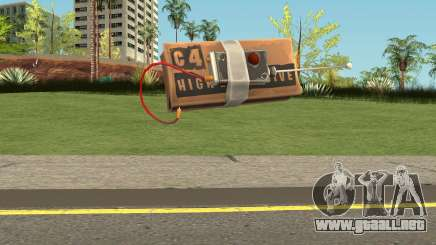 C4 from Fortnite para GTA San Andreas