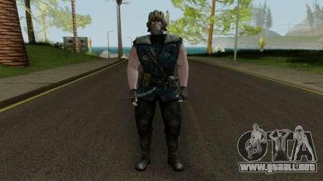 Kold War Sub-Zero MKXM para GTA San Andreas segunda pantalla