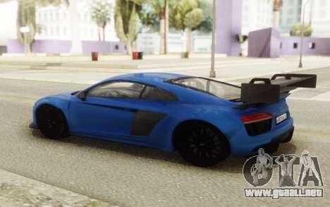 Audi R8 Carbon Spoiler para GTA San Andreas