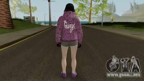 Skin DLC After Hours Female para GTA San Andreas