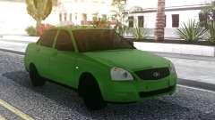Lada Priora Green para GTA San Andreas