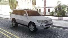Toyota Land Cruiser 105 White para GTA San Andreas