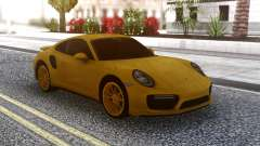 Porsche 911 Yellow para GTA San Andreas