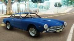 Ferrari 250 GT Berlinetta Lusso 1963 Coupe para GTA San Andreas