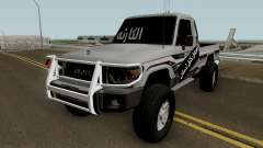 Toyota Land Cruiser 79 2018 para GTA San Andreas