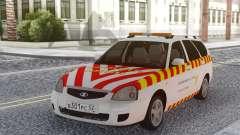 Lada Priora Escolta de mercancías peligrosas para GTA San Andreas