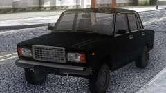 VAZ 2107 Negro Stock para GTA San Andreas