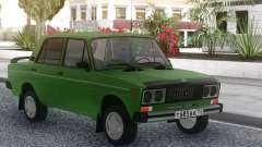 VAZ 2106 Optimización de las luces para GTA San Andreas