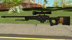 Sniper Rifle Gucci para GTA San Andreas
