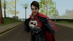 Superman from DC Unchained v1 para GTA San Andreas