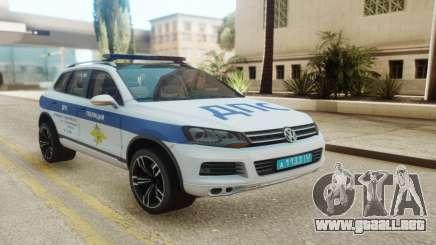 Volkswagen Touareg NF Russian Police para GTA San Andreas