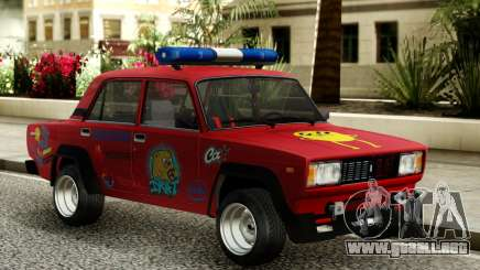VAZ 2105 Flasher para GTA San Andreas