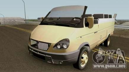 GAS-2705 Gacela Convertible 2005 v2 para GTA San Andreas
