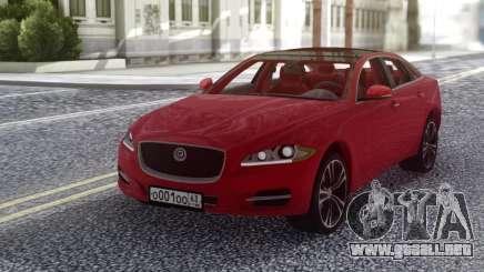Jaguar XJ 2010 Red para GTA San Andreas