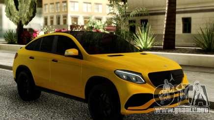Mercedes-Benz GLE 63 PP Performance para GTA San Andreas