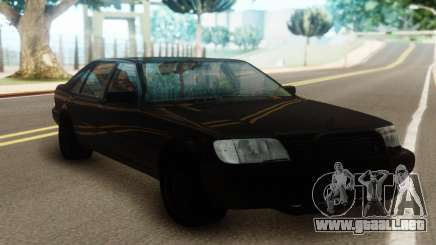 Mercedes-Benz S600 Pure Black para GTA San Andreas