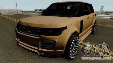 Range Rover Mansory Autobiography LWB para GTA San Andreas