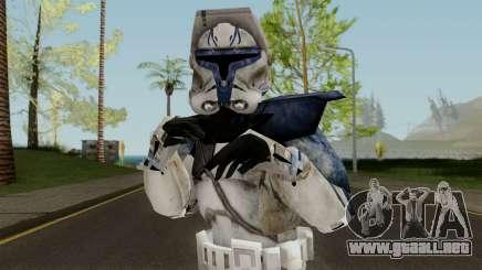 Star Wars Clone Captain Rex para GTA San Andreas